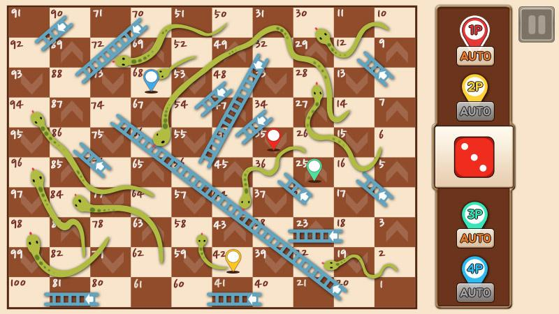 Screenshots of Snakes & Ladders King for iPhone