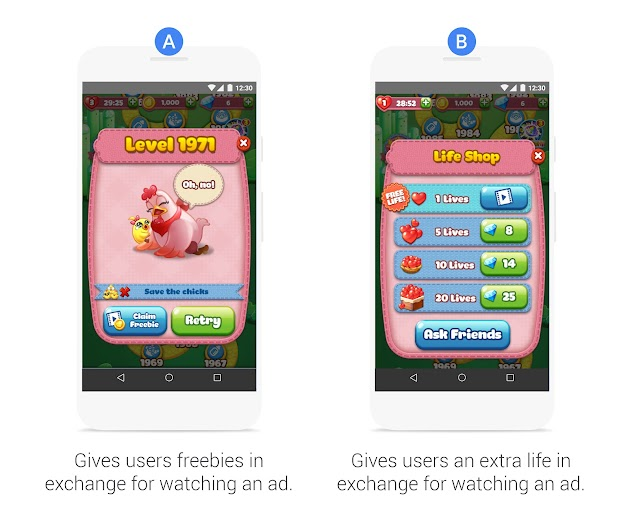 Comparação de anúncios da CookApps