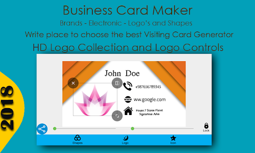 Business Card Maker Apps On Google Play - Place card maker
