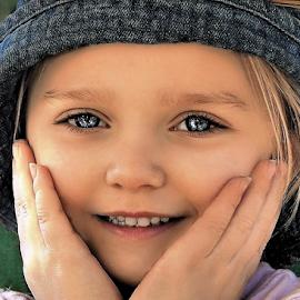 Oh Me Oh My! by Cheryl Korotky - Babies & Children Child Portraits