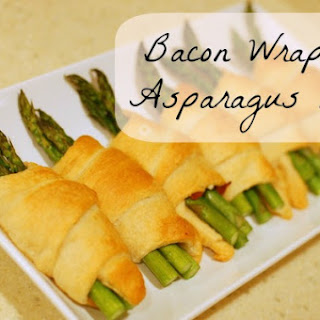 Bacon Wrapped Asparagus Rolls