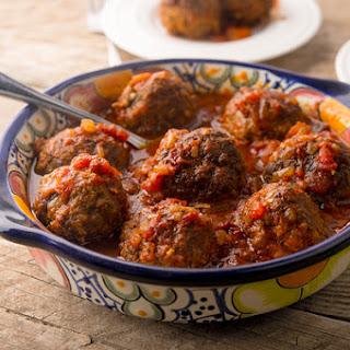 Albondigas, Mexican Venison Meatballs