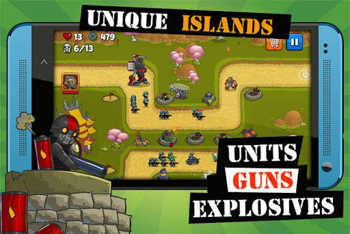 Island Defense: Offline Tower Defense 20.32.33 screenshots 3