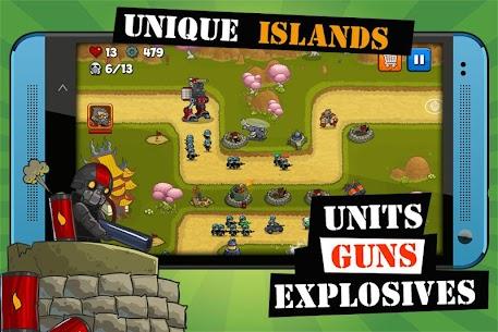 Island Defense Offline Tower Defense MOD 3