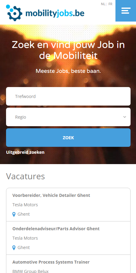 MobilityJobs- screenshot