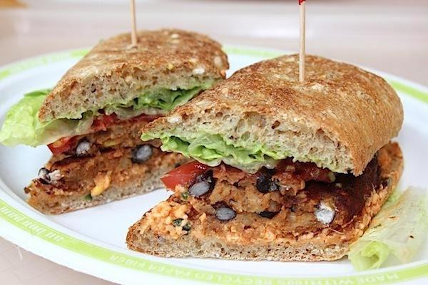 Spicy Black Bean And Lentil Burgers Recipe