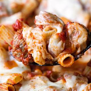 Skillet Meatball Pasta