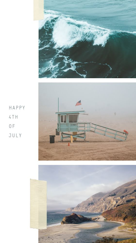 Happy 4th of July - Facebook Story Template