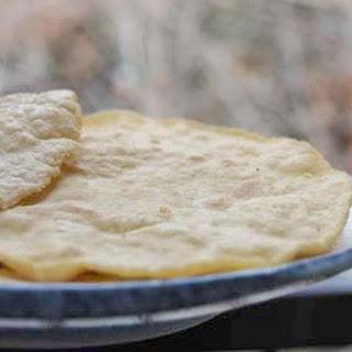 Bajra Roti or Millet flatbread Tortilla.