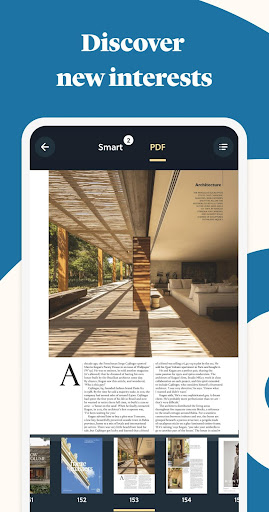 CAFEYN u2013 Online magazine subscriptions screenshots 2