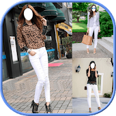 White Jeans Girls Editor