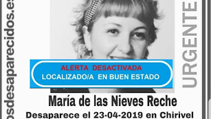 Imagen compartida por SOS Desaparecidos.