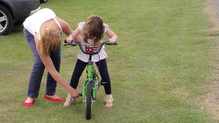 Image result for child learning to ride their bike