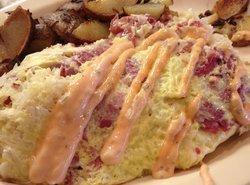 Reuben Omelette Recipe