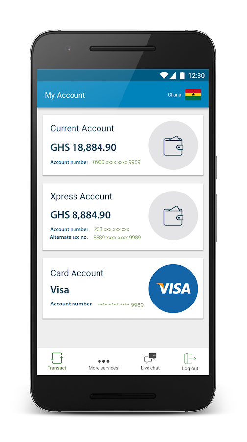 Ecobank Mobile Banking- screenshot