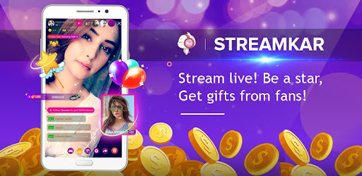 StreamKar - Live Streaming, Live Chat, Live Video - Apps on