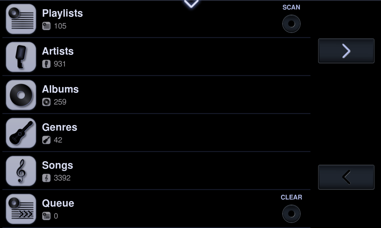 Neutron Music Player (Eval)- screenshot