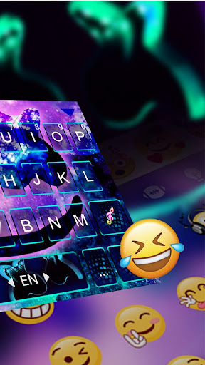 Screenshot for Galaxy Cool Man Keyboard Theme in United States Play Store