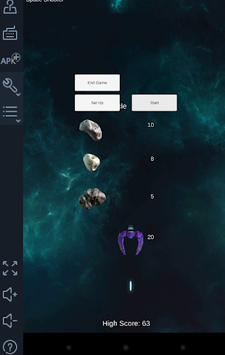 Space Invaders- Shooting games