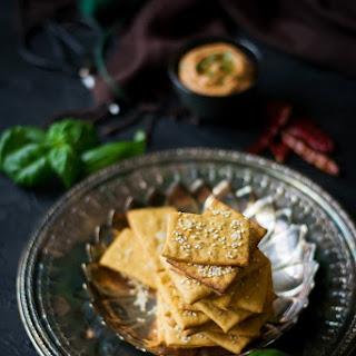 Vegan Cheese Crackers Recipe