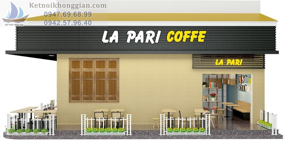 thiết kế quán cafe diện tích nhỏ xinh xắn