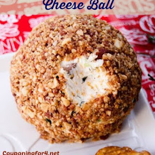 Bacon And Mixed Nuts Cheese Ball