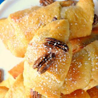 Pecan Pie Crescent Rolls.