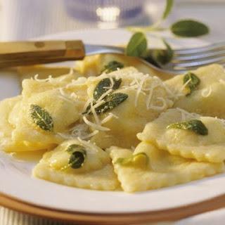 Vegetarian Ravioli.