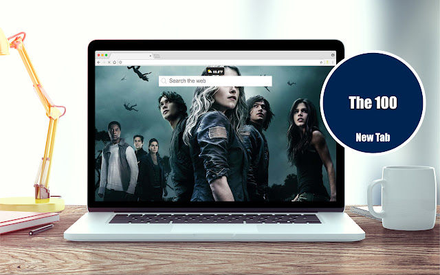 The 100 Wallpapers New Tab Theme