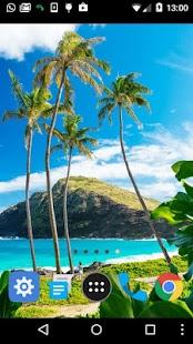 hawaiian islands wallpaper - náhled