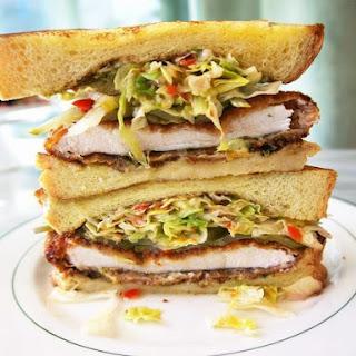 The Ultimate Chicken Schnitzel Sandwich.