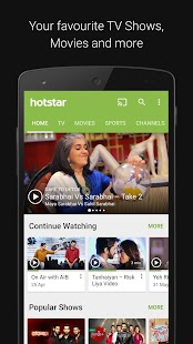 Download Hotstar For PC Windows and Mac apk screenshot 1