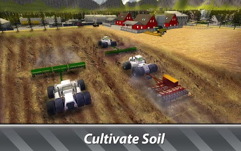 Big Machines Simulator: Farming - run a huge farm!