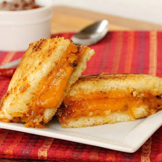 Grilled Cheese and Chili Sandwich