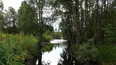 Photo: Речка и озеро Долгое