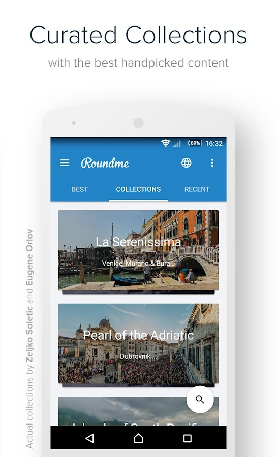 Roundme- screenshot