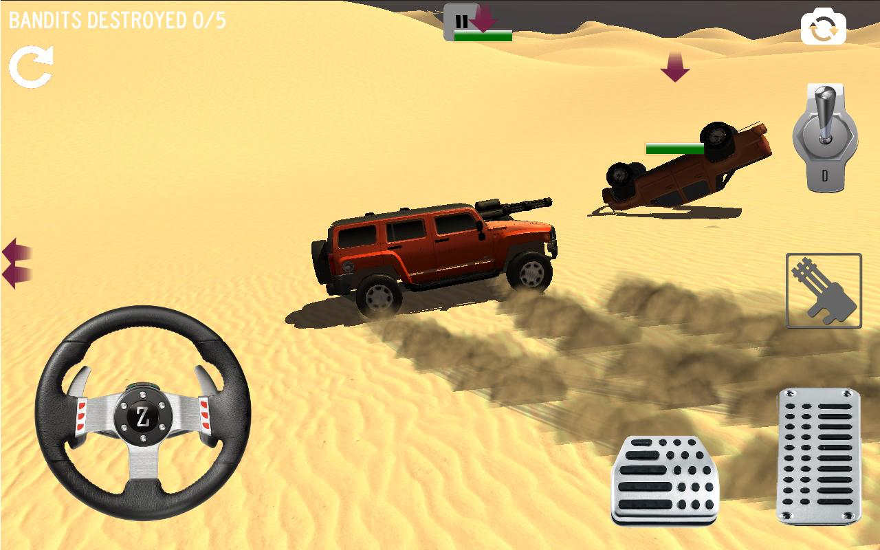 4x4 Desert Safari Attack- screenshot