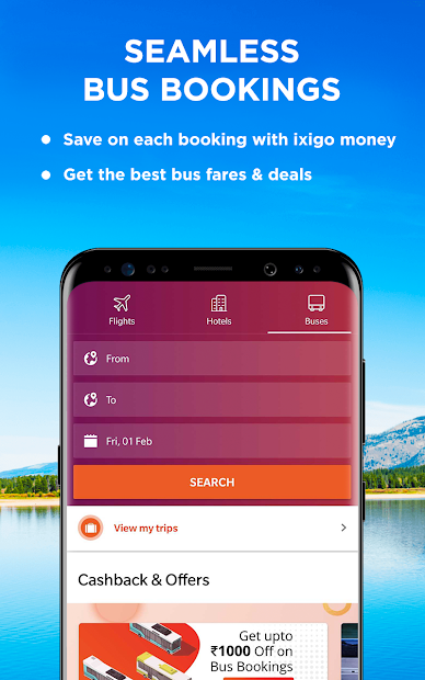 Flight, Hotel & Bus Booking App - ixigo