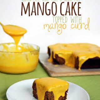 Mango Cake (gluten-free, dairy-free & sugar-free).
