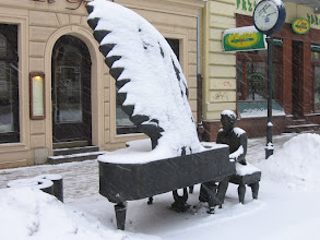 Photo: Fortepian Rubinsteina - ul. Piotrkowska 78