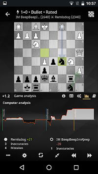 lichess • ilmainen online shakki apk screenshot