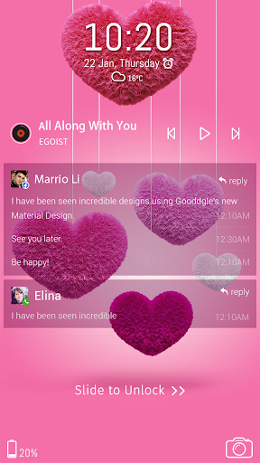 Valentine's Day Theme screenshot 3