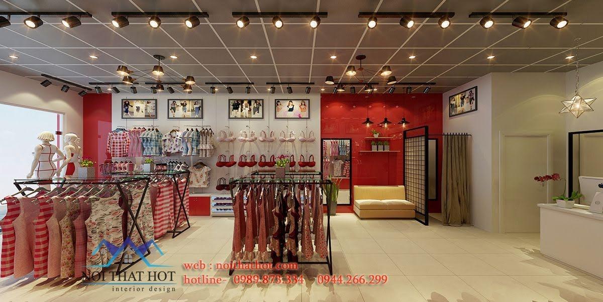 thiết kế shop thời trang và nội y paltal 3
