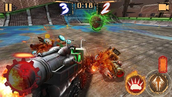 Raketenball - Rocket Car Ball Screenshot