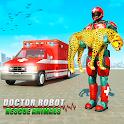 Doctor Robot Rescue Animals icon