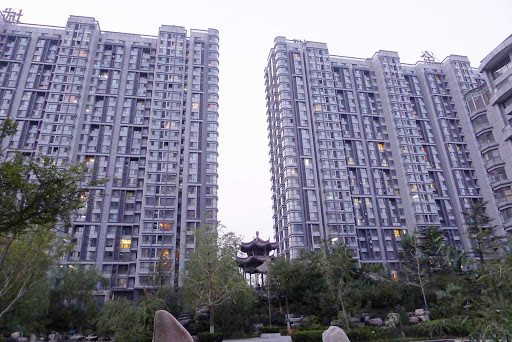 Beijing-xiaoqu - A typical xiaoqu, or residential development, in Beijing.