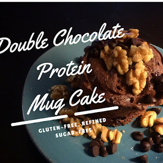 Double Chocolate Protein Mug Cake – Gluten-Free and Low Sugar!.