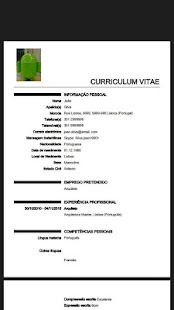 Curriculum vitae europeu ultim android apps on google play curriculum vitae europeu ultim screenshot thumbnail yelopaper Images