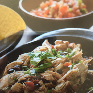 Slow Cooker Chicken Black Bean Tacos