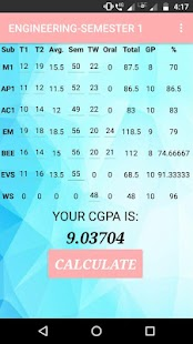 Goal-Engg : Calculate Engineering CGPA On The Go - náhled